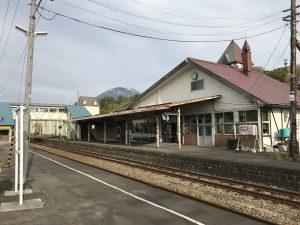 ニセコ駅舎