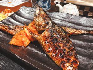 ごちそう3種の焼き魚定食