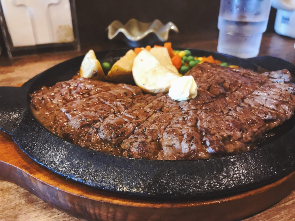 ステーキ レギュラー 270g