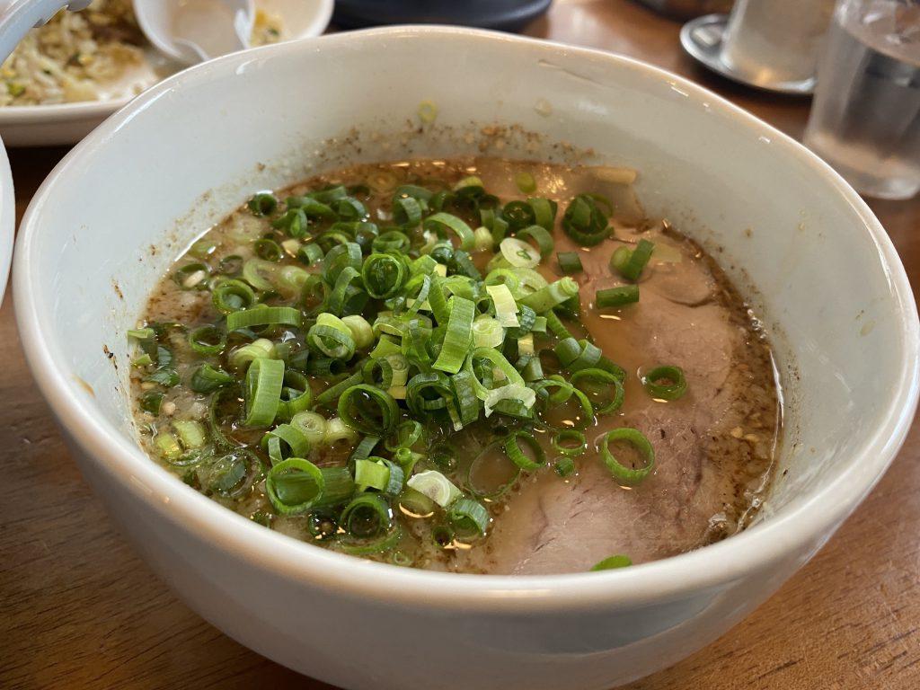 菜々兵衛つけ麺のスープ